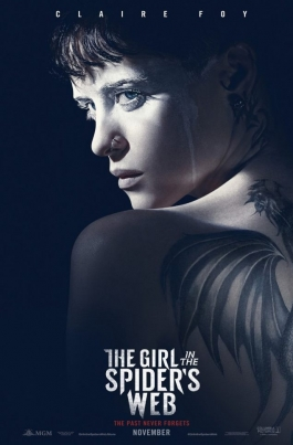 Девушка, которая застряла в паутинеThe Girl in the Spider's Web постер